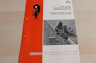 Rabewerk Untergrundpacker Upa Krümler Prospekt 02/1962 Luxuriant In Design 144636