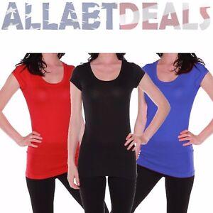 102f76bcd635 Active Basic Women's Basic Scoop Neck Short Sleeve Top Shirt Tee ...