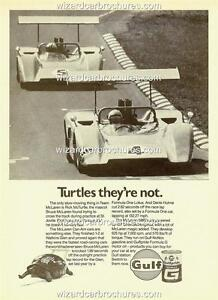 1968 bruce mclaren denis hulme m8b can am a3 poster ad sales