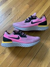 Nike Epic React Flyknit Running Shoes Plum Dust Black Sneakers AQ0067-500