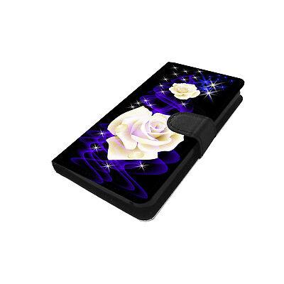 Für Samsung Galaxy A5 2016 Schutz Hülle Handy Tasche Flip Case 2SEITEN Motiv