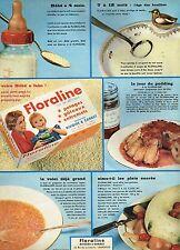 E- Publicité Advertising 1958 La Floraline Rivoire & Carret