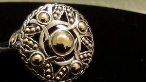 John Hardy Palu Coin Ring, Size 7