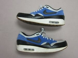 the best attitude 3463f 324e1 Image is loading NIKE-AIR-MAX-1-ESSENTIAL-MENS-BLUE-amp-
