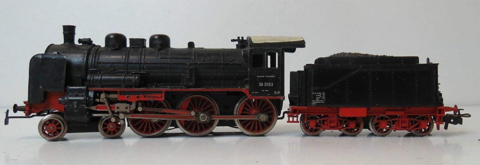 Treno LOCOMOTIVA BR 38 DR digitalizzati   3099 h0 senza imballaggio originale  FH