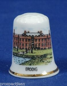 Erddig NT Wales China Thimble B//07