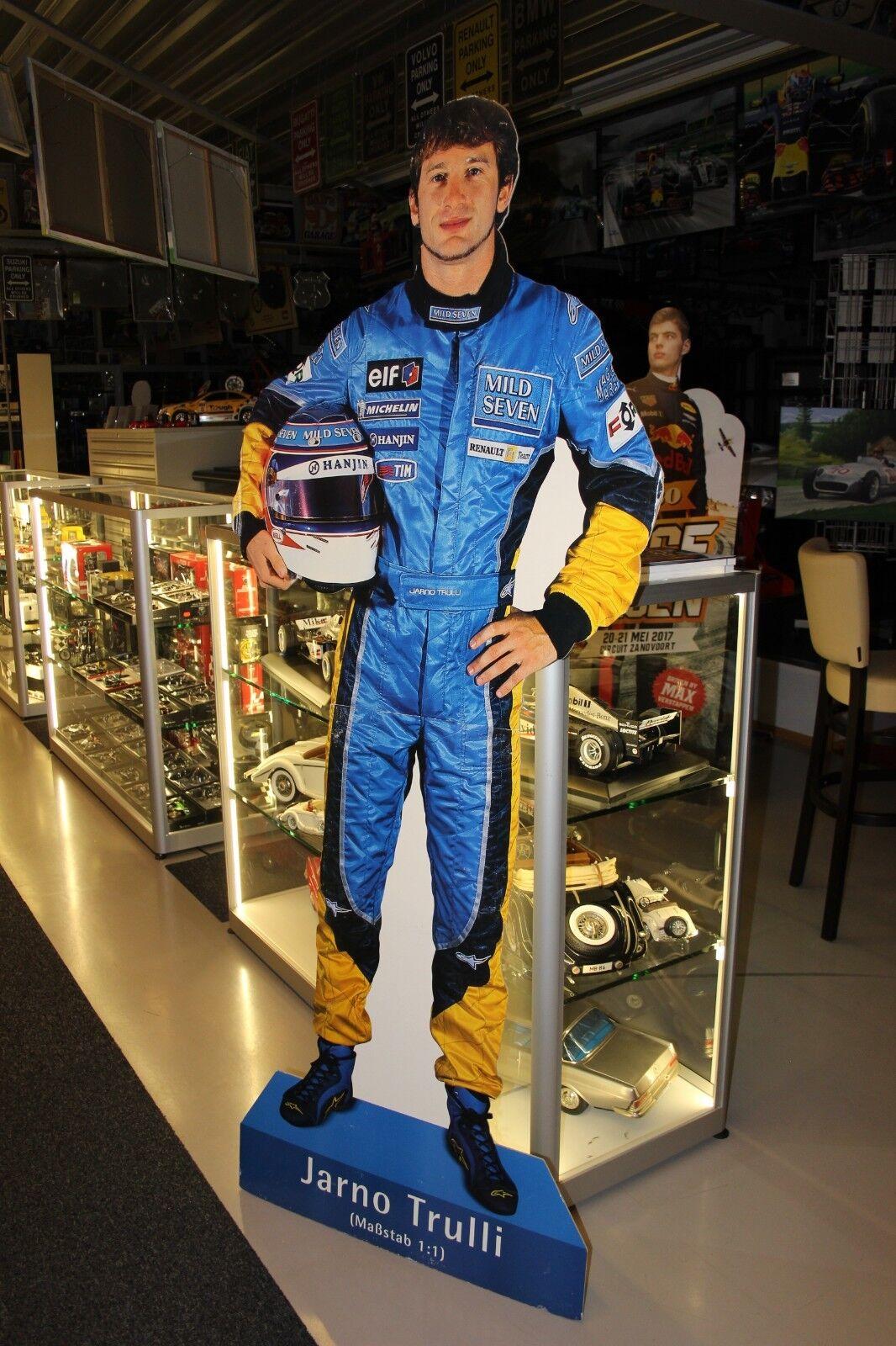 tiendas minoristas Cochedboard Figurine Jarno Trulli Mild Seven Renault F1 F1 F1 Team (height 195 cm)  punto de venta en línea