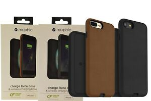 factory authentic f024d a0703 Details about Mophie Charge Force Case & Wireless Charging Base for iPhone  7/8