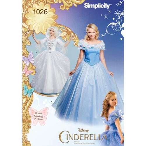 Schnittmuster Cinderella und Fee Gr.32-40