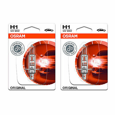 2x Peugeot 308 Genuine Osram Cool Blue Intense Low Dip Beam Headlight Bulbs Pair
