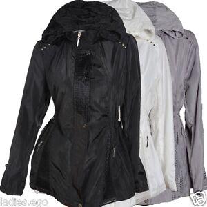 mantel schwarz weiß damen