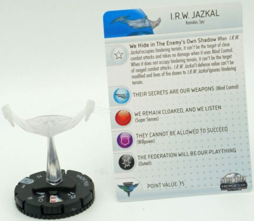 HeroClix Star Trek Tactics II Miniatures Figurines Game Pieces Wizkids NECA