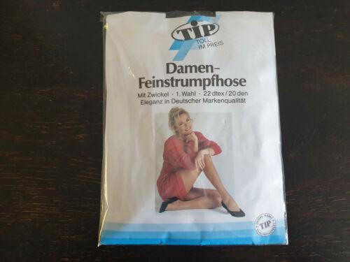 Damenstrumpfhose TIP Feinstrumpfhose Gr.48//50 20den mit OVP NEU
