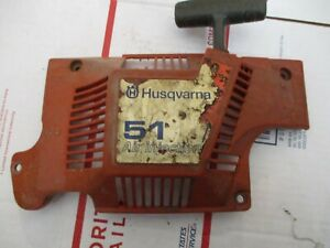 Husqvarna-503608803-Recoil-Assembly-for-55-51-50-Rancher-Chainsaw-used-OEM