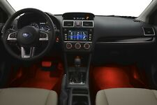 2013 2019 subaru sti wrx interior red illumination kit genuine forester impreza