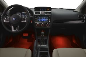 Genuine OEM 2012-2014 Subaru WRX Red Interior Illumination Kit