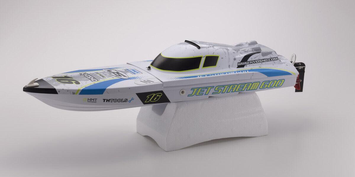 KYOSHO Jet Stream 600 Ep Type 2 readyset 40132tb motoscafo RTR Chow unsinkbar