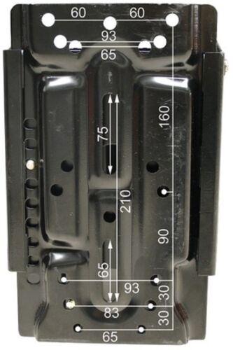 SITZ RM20 105 UNIVERSAL PVC Schwarz MECHANISCH gerade und schräg Konsole Traktor