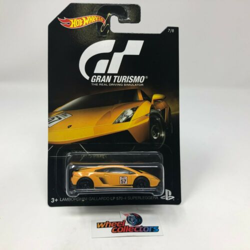 Hot Wheels Black Card Gran Turismo Lamborghini Gallardo LP 570-4 HC9