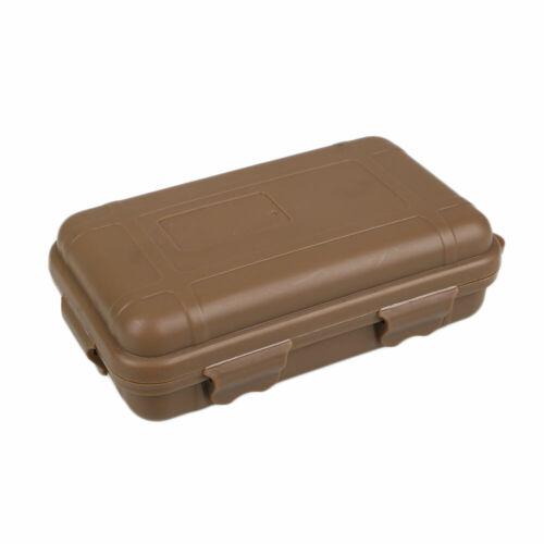 4F7E Outdoor Waterproof EDC Boxes Survival Holder Storage Travel Sealed Case