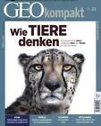GEO kompakt Wie Tiere denken (2013, Blätter)