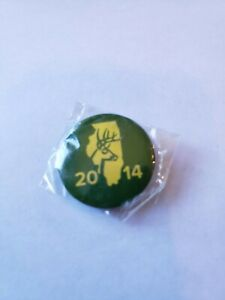 Details about  /2015 Illinois Bow Deer Harvest Pinback Pin