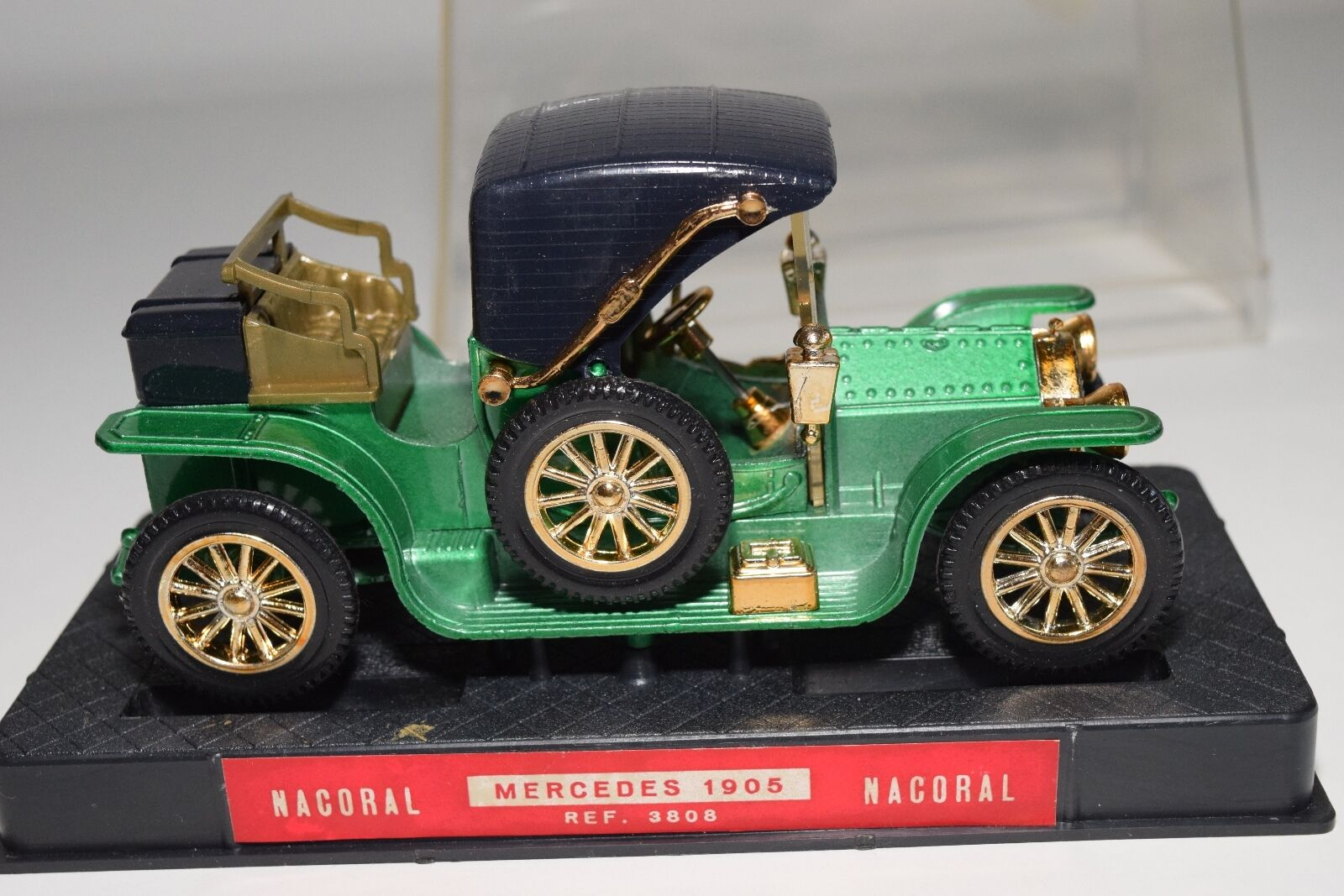 + + + NACORAL 3808 MERCEDES BENZ 1905 METALLIC GREEN MINT BOXED RARE SELTEN ab3083