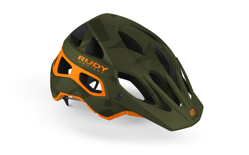 Helmet RUDY PROJECT PredERA Green Camo-orange Matte