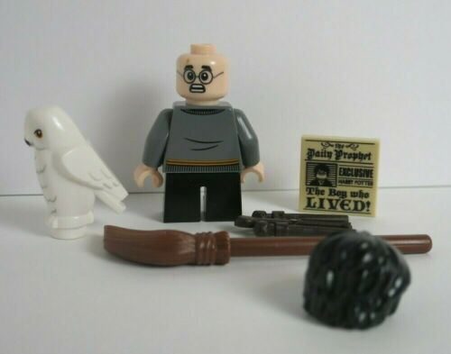NEW Harry Potter Hedwig Owl Daily Prophet Exclusive from Book LEGO Minifigure