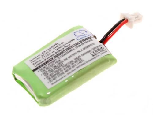 3,7V Akku für Plantronics Savi CS540 CS540A Headset84479-01 86180-01140mAh