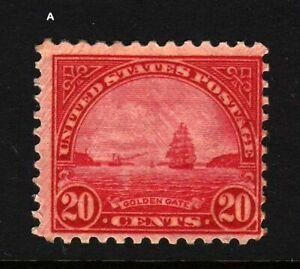 1931-Sc-698-MNH-20c-Golden-Gate-single-stamp-CV-12-50