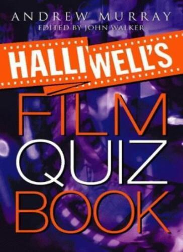 1 of 1 - Halliwell's Film Quiz Book,Andrew Murray, John Walker