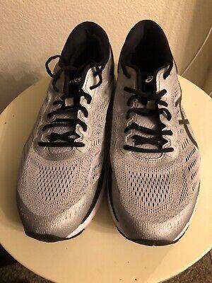 Asics Gel Kayano 24 [SilverBlackGrey] FlyteFoam Running Mens 12 | eBay