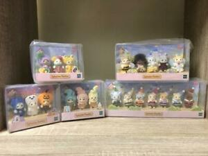 Sylvanian-Families-35th-Anniversary-BABY-Doll-mascot-Limited-5-set-Rare-Limited
