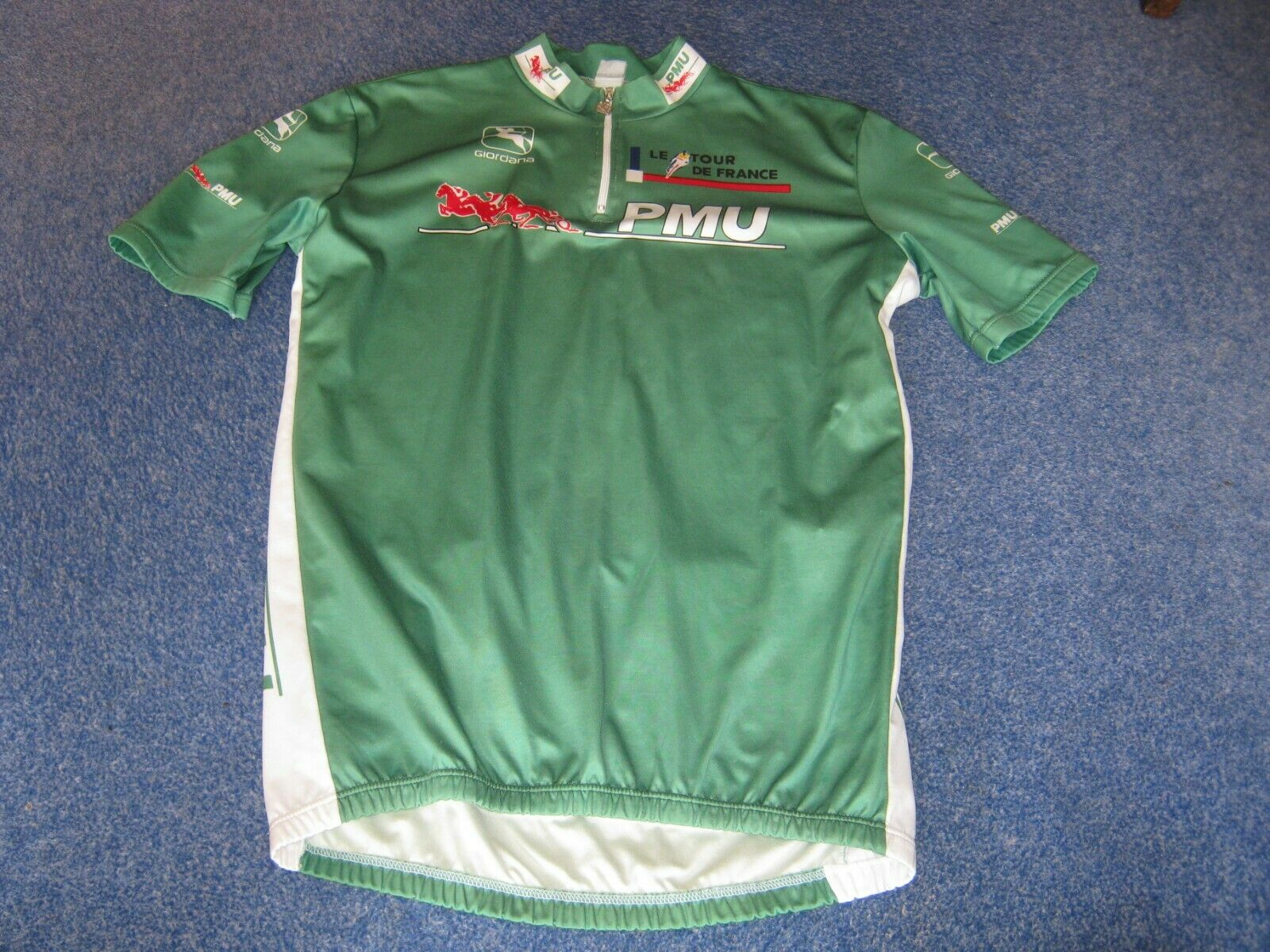 Tour de France  1995 Giordana Green Points Leader cycling jersey [XL 5 52]  creative products