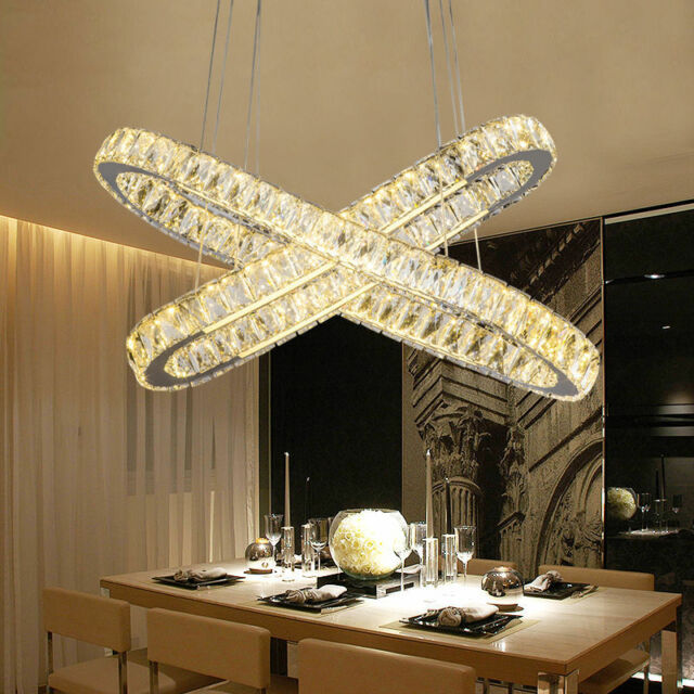 Hotel Lighting Oval Chandelier Led