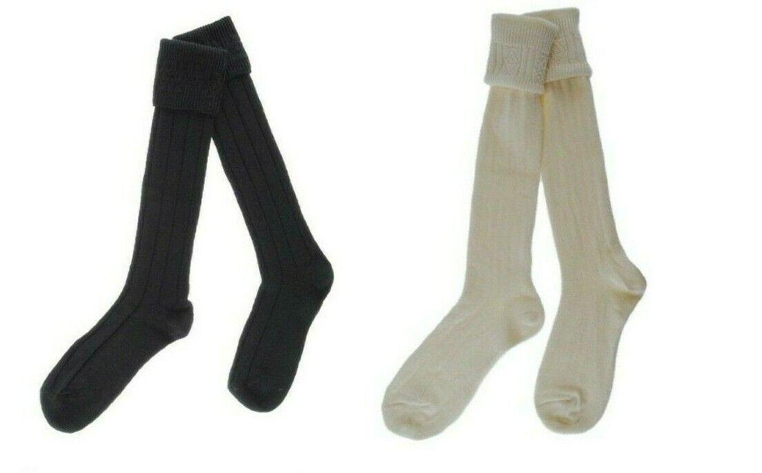 Traditional Scottish Kids Kilt Hose / Socks Made In Scotland