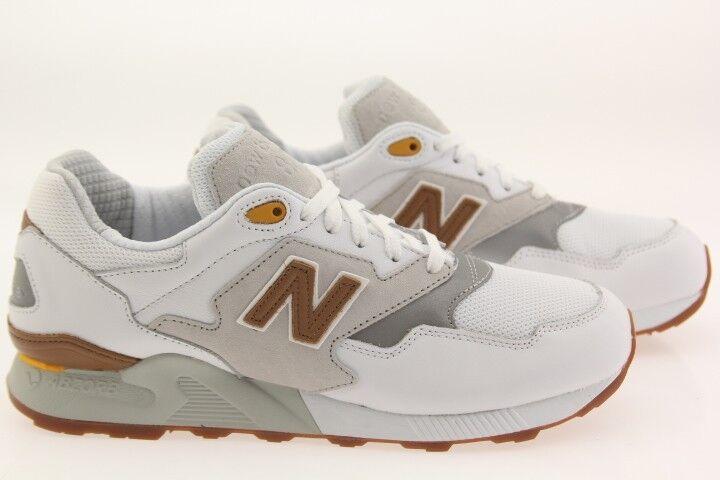 New Balance Homme 878 90s Running ML878ATA  Blanc  concrete ML878ATA