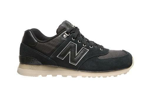 Mens New Balance 574 Black Trainers ML574PKP