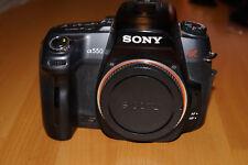 Sony Alpha 550 - 14,2 MP Digitalkamera - Schwarz (Nur Gehäuse)