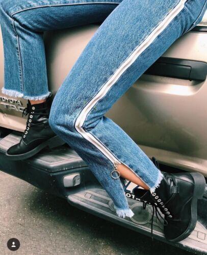 Denim Carmar Juliet Dawson 25 Lf Fit Sidste Jeans Relax Frayed Sz lynlås 228 WqgZxTH8Hw