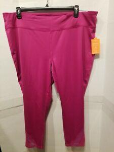 Size Plus Active Leggings Pants 1X,2X,Tek Gear Multi Color Elastic waist NWT