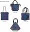 Geometric-Lattice-Luminous-Shoulder-Bag-Holographic-Reflective-Cross-Body-Bag thumbnail 39