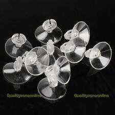 Aquarium Suction Cup Airline Holder With Clip X5 24HR RAPID DISPATCH FROM UK.