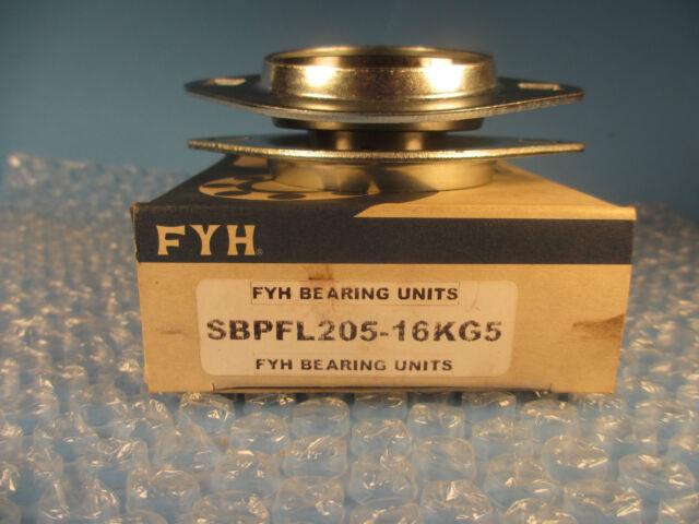 "FYH Bearings SBPFL205-14 7//8/"" inch Stamped steel oval"