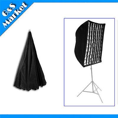 umbrella square softbox with grid For SpeedLight/Flash/speedlite 90cm/35in
