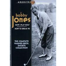 Bobby Jones How I Play Golf / How to Break 90 - The Complete Warner Bros. Shorts