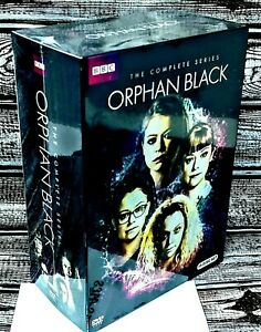 Orphan-Black-Complete-Series-Seasons-1-5-DVD-Set-Five-NEW-FREE-SHIPPING