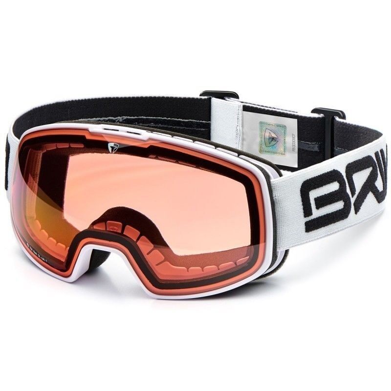 BRIKO Nyira Goggle  - 2018 Model - White w Pink Cat 1 Lens  factory direct and quick delivery