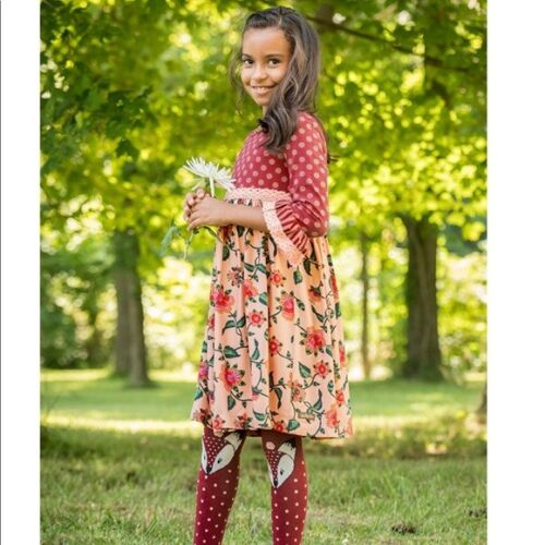 Matilda Jane Be Clever Dress Girls Size 6 8 New In Bag New Choose Your Own Path